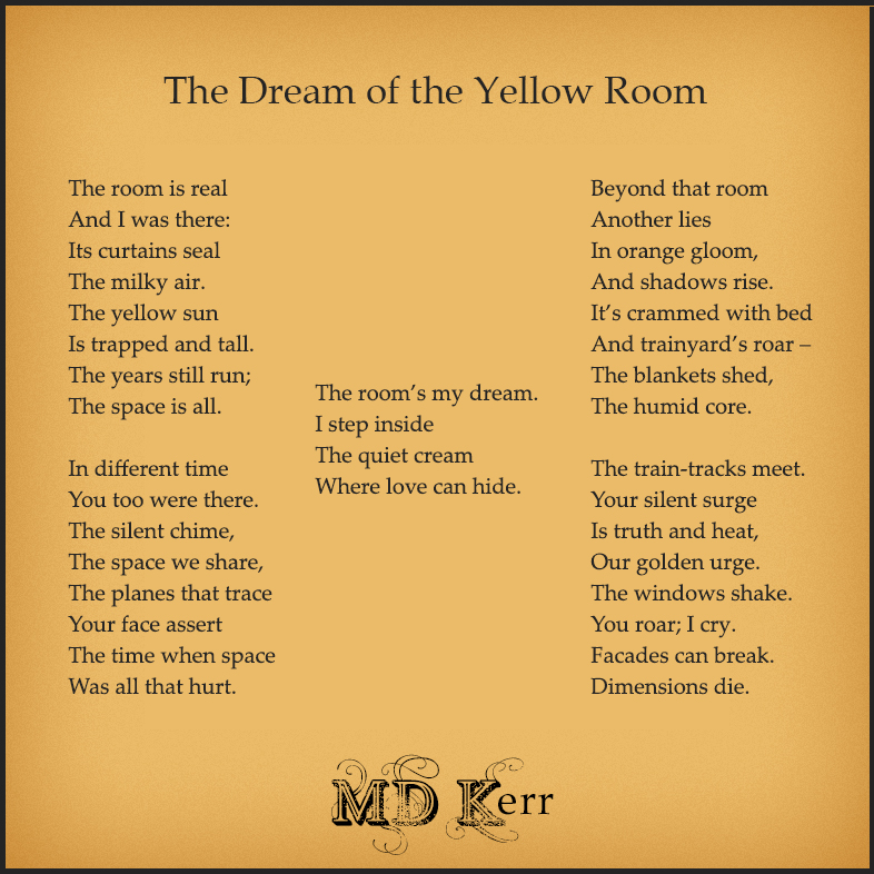 Poem: The Dream of the Yellow Room